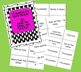 Fry Phrase Cards for Games & Practice  -1st Hundred Phrases