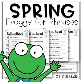 Fry Phrase Fluency for Spring