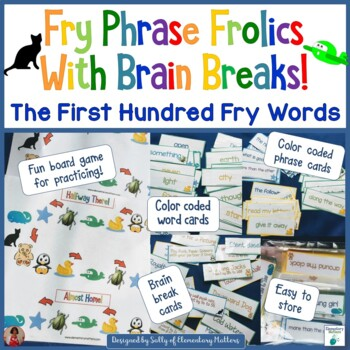 Fry Sight Word Phrases - The First Hundred