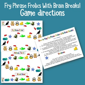 Fry Sight Word Phrases - The Second Hundred