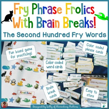 Fry Sight Word Phrases  The Second Hundred