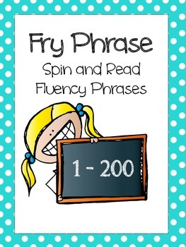 Fry Phrase Practice Sheets