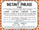 Fry Phrase Strips for Binder Rings - Set 6