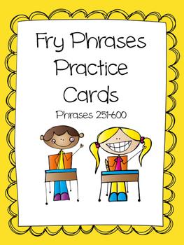 Fry Phrases 251-600