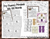 Fry Phrases (5th and 6th) Fluency Games and Intervention Set Bundle