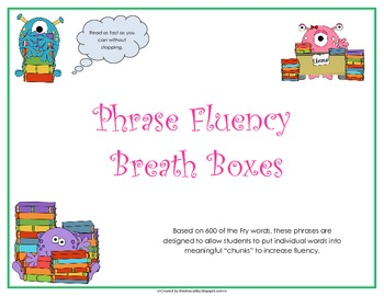 Fry Phrases Breath Boxes