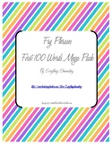 Fry Phrases - First 100 - Mega Pack