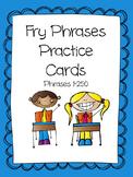 Fry Phrases 1-250