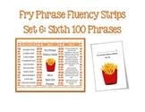 Fry Phrases Fluency Fan Set 6
