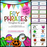 Fry Phrases Fluency Game BUNDLE