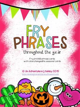 Fry Phrases Fluency Game - Third Hundred