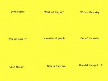 Fry Phrases Fluency PowerPoints 10 presentation BUNDLE!