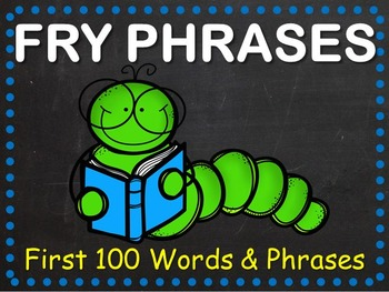 Fry Phrases Fluency Powerpoint - First 100 Words