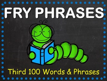 Fry Phrases Fluency Powerpoint - Third 100 Words