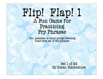 Fry Phrases Game: Flip! Flap! 1