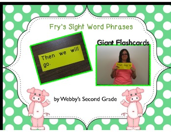 Fry Phrases Giant Flashcards