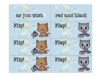 Fry Phrases Reading Fun: Flip! Flap! 6