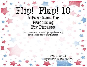 Fry Phrases Reading Game: Flip! Flap! 10