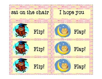 Fry Phrases Reading Game: Flip! Flap! 11