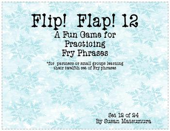 Fry Phrases Reading Game: Flip! Flap! 12
