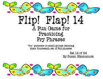 Fry Phrases Reading Game: Flip! Flap!  14