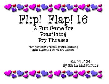Fry Phrases Reading Game: Flip! Flap! 16