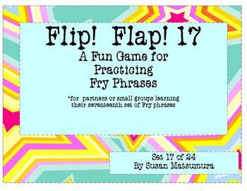 Fry Phrases Reading Game:  Flip! Flap! 17