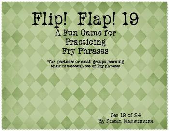 Fry Phrases Reading Game: Flip! Flap! 19
