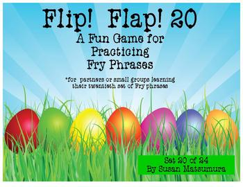 Fry Phrases Reading Game: Flip! Flap! 20