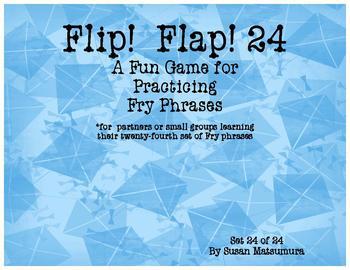 Fry Phrases Reading Game:  Flip! Flap! 24