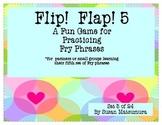 Fry Phrases Reading Game: Flip! Flap! 5