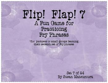 Fry Phrases Reading Game: Flip! Flap! 7