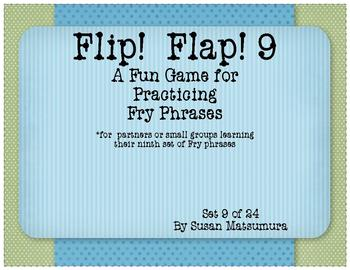 Fry Phrases Reading Game: Flip! Flap! 9