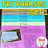 Fry Phrases Sight Word Phrases Fluency Builder for Reading Inverventions