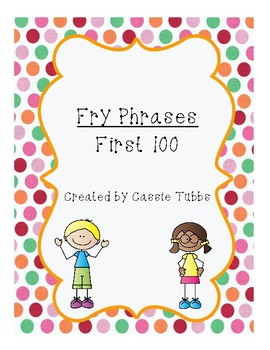Fry Phrases for Fluency 1-100