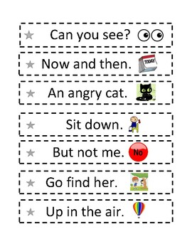 Fry Phrases with Visual Support