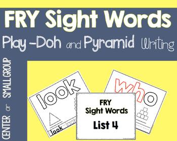 Fry Play Doh and Pyramid Mats
