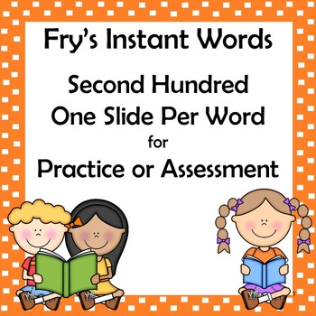 Fry Sight Words: Second 100 PDF Auto-Counting PDF Tracking Form with PPT Words