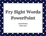 Fry Second 100 Sight Word PowerPoint (Untimed)