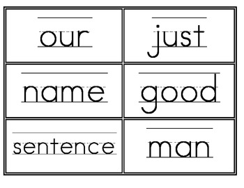 Fry Second 100 Word Wall Words