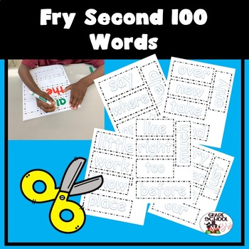 Fry Second 100 Words