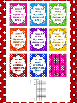 Fry 2nd Grade High Frequency Words Sight Word Assessment Tracking System
