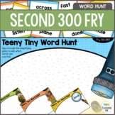 Fry Sight Word Activity - Literacy Center - Word Search Hu
