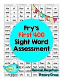 Fry Sight Word Assessment
