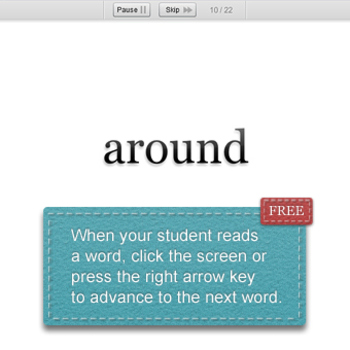 Sight Word Fluency - Assessment and Progress Monitoring Software - FREE