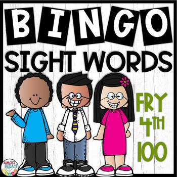 Fry Sight Word Bingo | Fourth 100