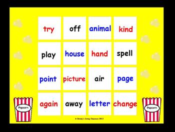 Fry Sight Word Bingo-- The Second 100 (List 4)
