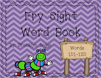 Fry Sight Word Book (Words 101-120)