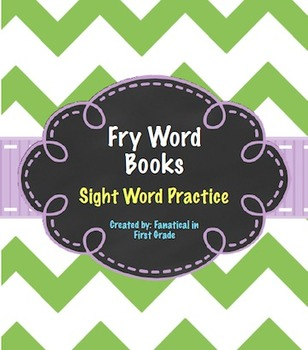Fry Sight Word Books 400-600