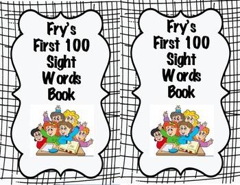 Fry Sight Word Books List 1-100